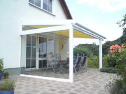 terrassen berdachung alu glas oder holz. Black Bedroom Furniture Sets. Home Design Ideas